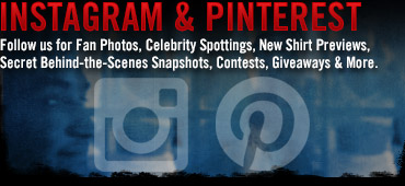 Follow Us On Instagram and Pinterest