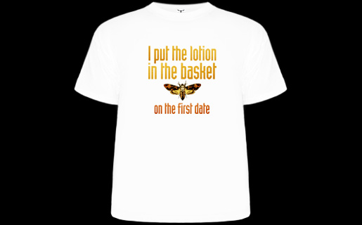 8f4a764ec4a44 T-Shirt Hell :: Shirts :: I PUT THE LOTION IN THE BASKET ON THE ...