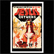 JESUS RETURNS (POSTER)