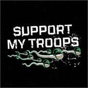 SUPPORT MY TROOPS (UNDERWEAR)