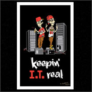 KEEPIN I.T. REAL (POSTER)