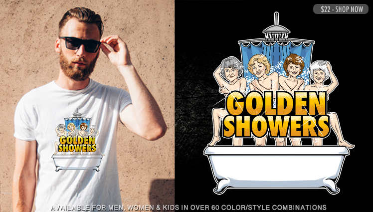 GOLDEN SHOWERS (GOLDEN GIRLS)