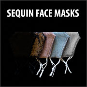 SEQUIN FACE MASK (ADJUSTABLE)