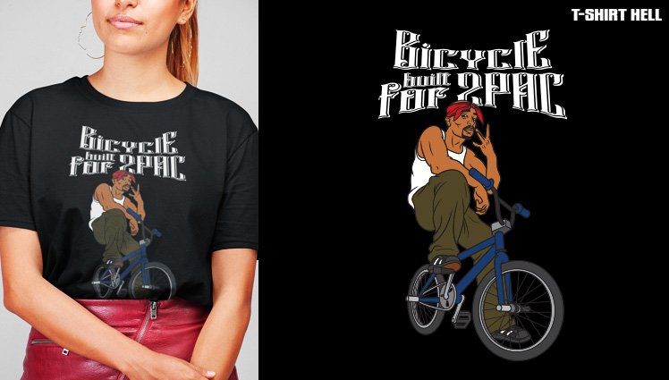 BICYCLE BUILT FOR 2PAC