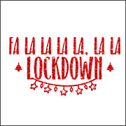 FA LA LA LA LOCKDOWN (MASK)