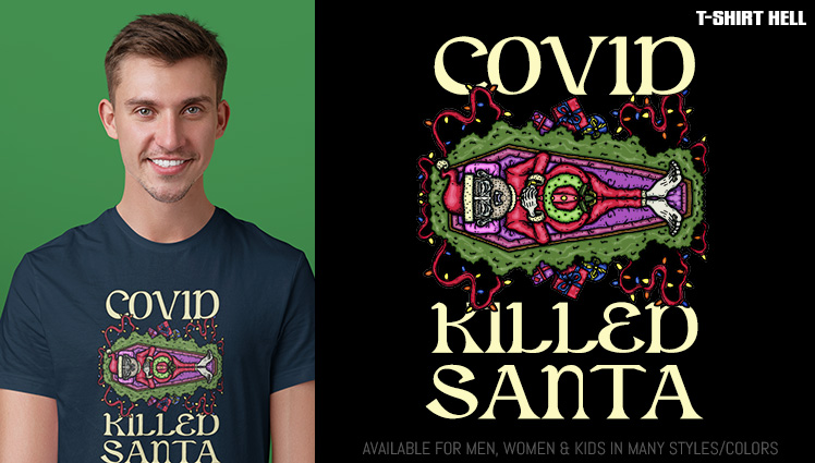 COVID KILLED SANTA
