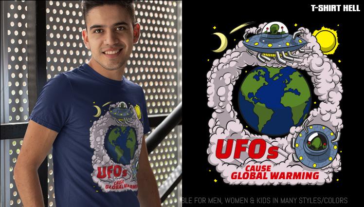 UFOs CAUSE GLOBAL WARMING
